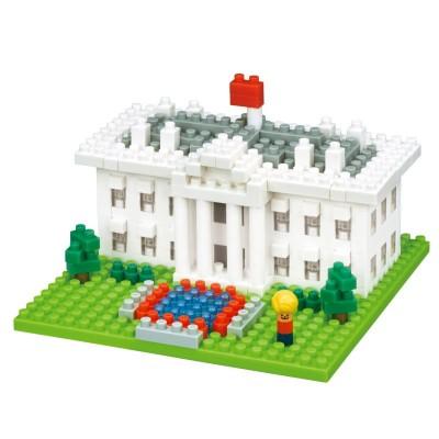 Nanoblock La Maison Blanche - 420 pièces - Difficulté 2/5