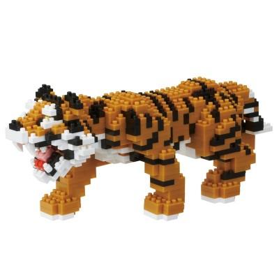 Nanoblock Tigre du Bengal - 660 pièces - Difficulté 5/5