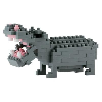 Nanoblock Hippopotame - 140 pièces - Difficulté 2/5