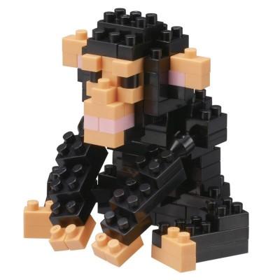 Nanoblock Chimpanzé - 120 pièces - Difficulté 2/5
