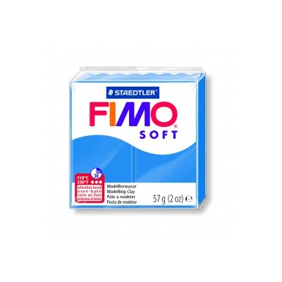 Pâte FIMO Bleu pacific n°37