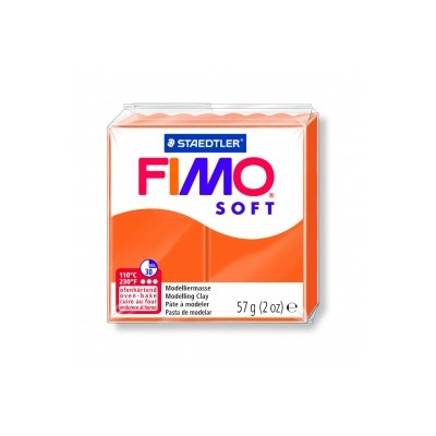 Pâte FIMO Mandarine n°42