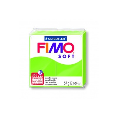 Pâte FIMO Vert pomme n°50