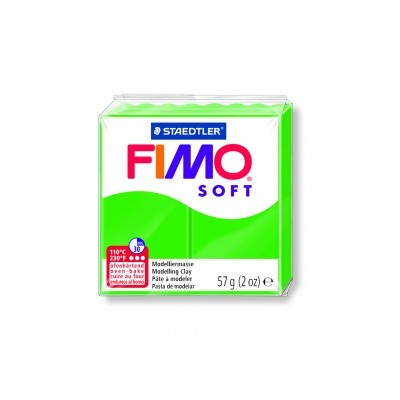 Pâte FIMO Vert tropical n°53
