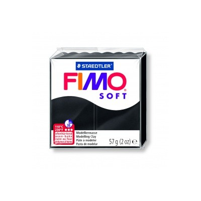 Pâte FIMO Noir n°09