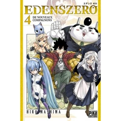 Edens Zero Tome 4 De nouveaux compagnons - Hiro Mashima