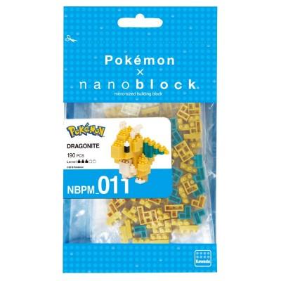 Dracolosse Pokémon x Nanoblock -  190 pièces - Difficulté 3/5