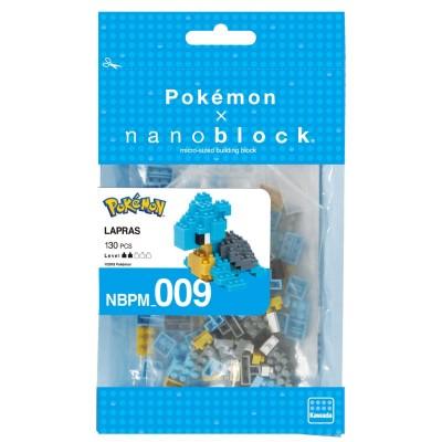 Lokhlass Pokémon x Nanoblock -  130 pièces - Difficulté 2/5