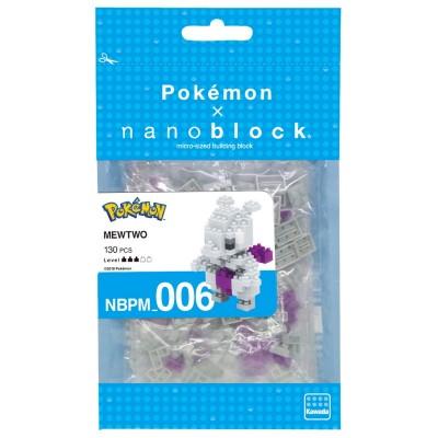 Mewtwo Pokémon x Nanoblock -  130 pièces - Difficulté 3/5