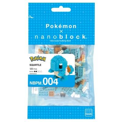 Carapuce Squirtle Pokémon x Nanoblock -  120 pièces - Difficulté 2/5