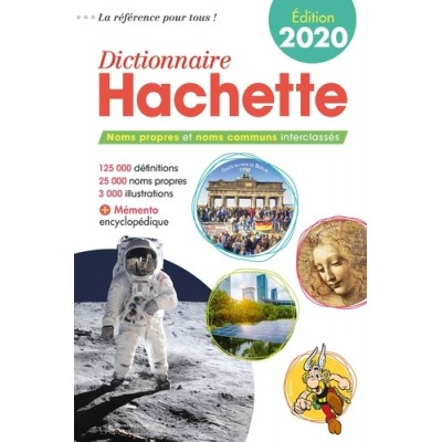 Dictionnaire hachette 2020 - Bénédicte Gaillard