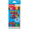 Crayons de couleur DUO Maped ColorPeps 12 - 24