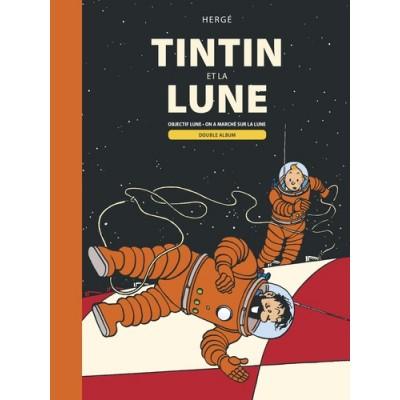 Tintin et la Lune Double album : Objectif Lune  On a marché sur la Lune
