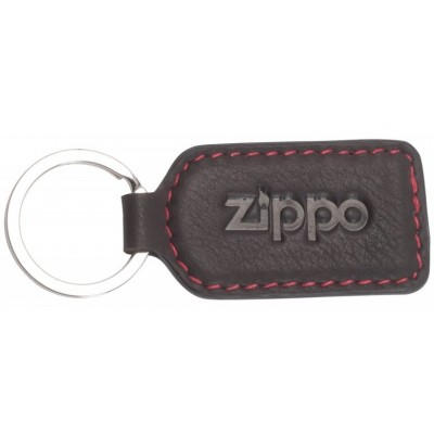 Porte-clés en cuir Zippo coloris Moka