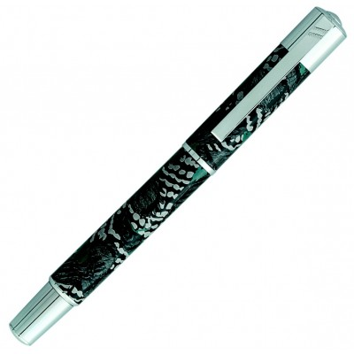 Stylo Roller Daniel Hechter Collection Media Hubb motif oiseau