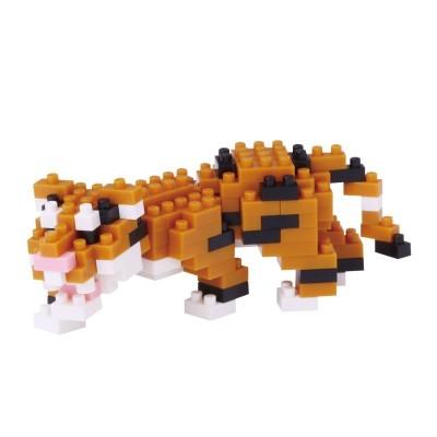 Nanoblock Tigre du Bengal - 150 pièces - Difficulté 3/5