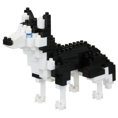 Nanoblock Husky de Sibérie Dog Breed - 200 pièces - Difficulté 3/5