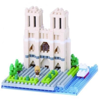 Nanoblock Cathédrale Notre Dame de Paris - 400 pièces - Difficulté 2/5