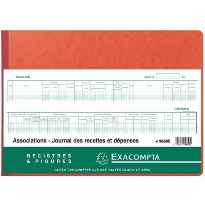Journal des Recettes Dépenses des Associations 80 p 9650E