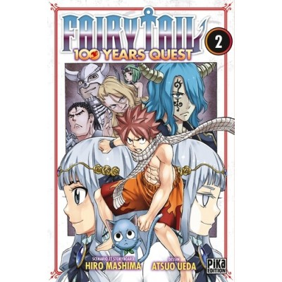 Fairy Tail - 100 years quest Tome 2 - Hiro Mashima