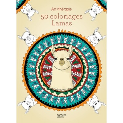 50 coloriages Lamas - Cathy Delanssay