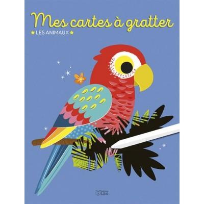 Mes cartes à gratter les animaux - Corinne Lemerle