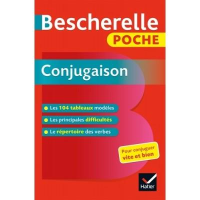Bescherelle poche Conjugaison - L'essentiel de la conjugaison française - Hatier