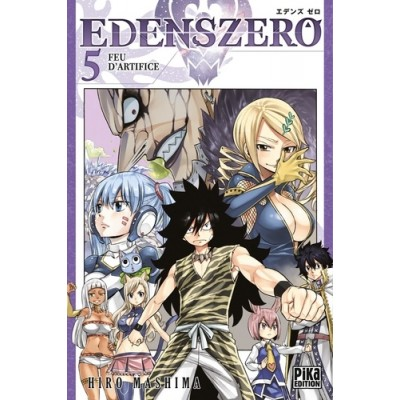 Edens Zero Tome 5 Feu d'artifice - Hiro Mashima