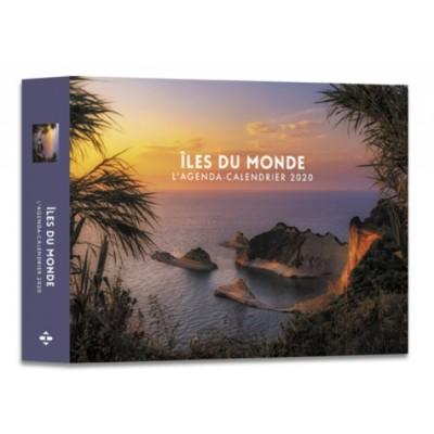 L'agenda-calendrier Iles du monde - Hugo et Compagnie