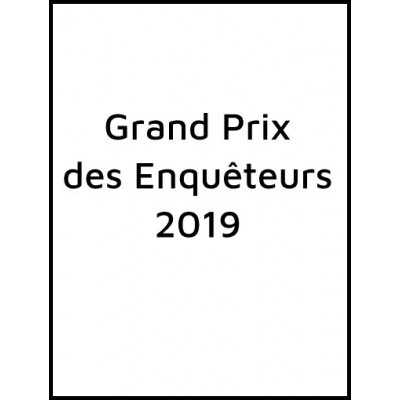 Grand prix des enquêteurs 2019 - Collectif