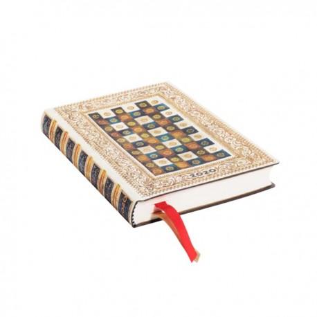 Agenda 2020 Paperblanks AUREO Jan/Déc Horizontal Format Mini 9,5 x 14 cm