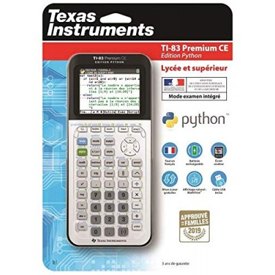 Calculatrice TI‑83 Premium CE Edition Python