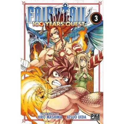 Fairy Tail - 100 years quest Tome 3 - Hiro Mashima