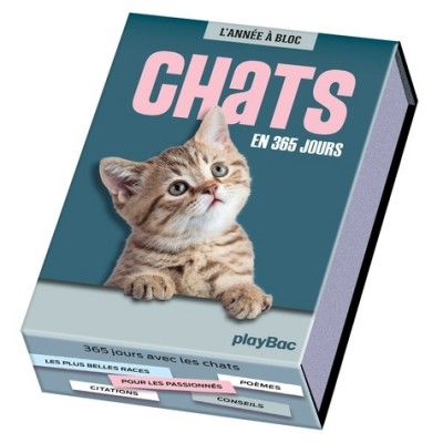 Chats en 365 jours - Henry Ausloos