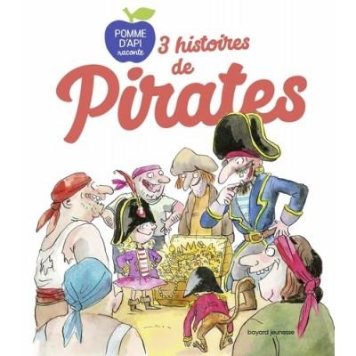 3 histoires de pirates - Bertrand Fichou