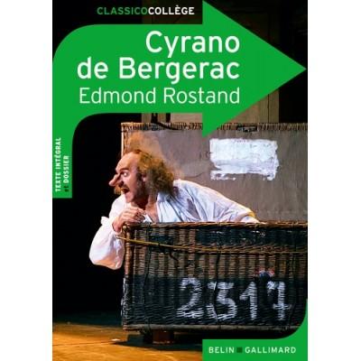 Cyrano de Bergerac - Edmond Rostand - Belin Gallimard