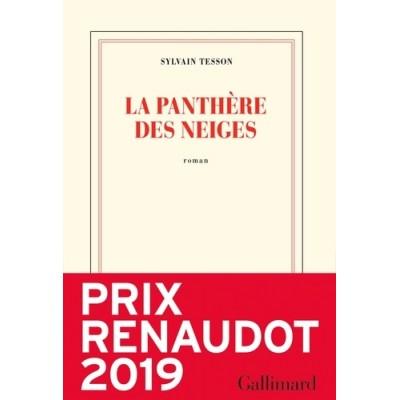 La panthère des neiges - Sylvain Tesson - Prix Renaudot 2019