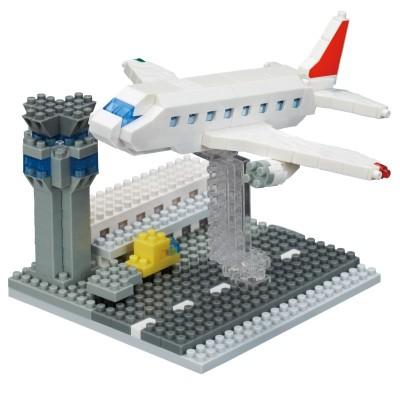 Nanoblock Aéroport - 410 pièces - Difficulté 3/5