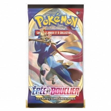 Pokemon Booster Epee Et Bouclier En Francais