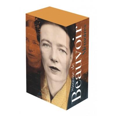 La Pléiade Simone de Beauvoir Coffret Mémoires I et II - ALBUM OFFERT