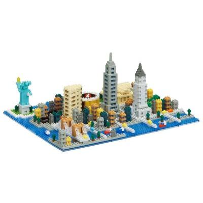 Nanoblock La ville de New York - Deluxe Edition - 1480 pièces - Difficulté 4/5