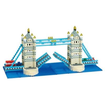 Nanoblock Tower Bridge Deluxe - Advanced Series - 1700 pièces - Difficulté 4/5
