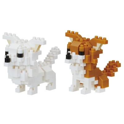 Nanoblock Chihuahua - Dog Breed - 180 pièces - Difficulté 3/5