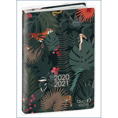 Agenda Scolaire 2020-2021 Jungle Spirit Animaux