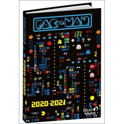 Agenda Scolaire 2020-2021 TEXTAGENDA PAC-MAN 2