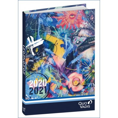 Agenda Scolaire 2020-2021 EUROTEXTAGENDA ML Graffiti 2