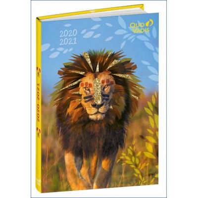 Agenda Scolaire 2020-2021 EUROTEXTAGENDA ML Mes potes à pattes LION