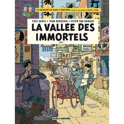 La vallée des immortels Tome 1 - Blake et Mortimer