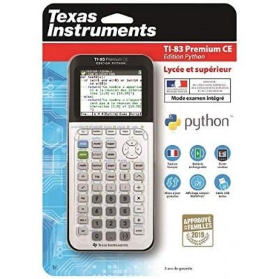 Calculatrice TI‑83 Premium CE Edition Python Texas Instruments
