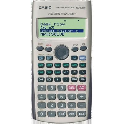 Calculatrice Financière Casio FC-100V